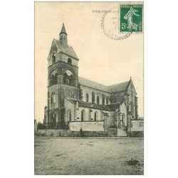 carte postale ancienne 51 ATHIS. L'Eglise