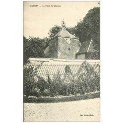 carte postale ancienne 51 AULNAY. La Tour du Château
