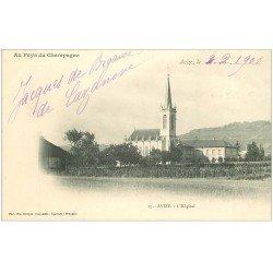 carte postale ancienne 51 AVIZE. Hôpital 1901