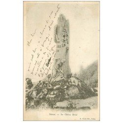 carte postale ancienne 08 SEDAN. Le Chêne Brisé 1902