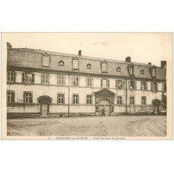 carte postale ancienne 51 CHALONS-SUR-MARNE. Ecole Normale de Garçons