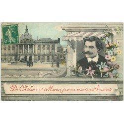 carte postale ancienne 51 CHALONS-SUR-MARNE. Fantaisie 1908