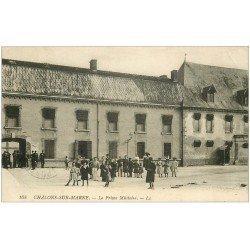 carte postale ancienne 51 CHALONS-SUR-MARNE. La Prison Militaire
