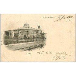 carte postale ancienne 51 CHALONS-SUR-MARNE. Le Cirque 1905