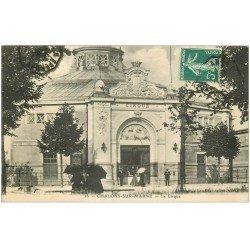 carte postale ancienne 51 CHALONS-SUR-MARNE. Le Cirque 1909