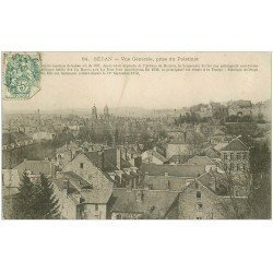 carte postale ancienne 08 SEDAN. Vue prise du Palatinat 1907