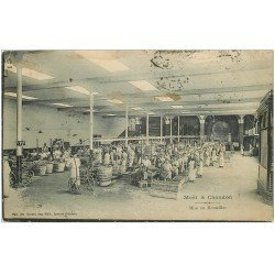 carte postale ancienne 51 EPERNAY. Champagne Moët et Chandon. Mis en bouteilles 1907. Timbre absent