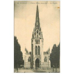 carte postale ancienne 51 EPERNAY. Chapelle Hôpital Auban-Moët Hospice