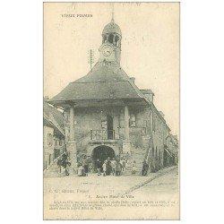 carte postale ancienne 51 FISMES. Ancien Hôtel de Ville 1916
