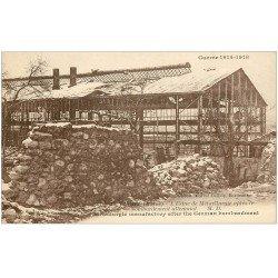 carte postale ancienne 51 FISMES. Extérieur Usine Métallurgique