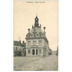 carte postale ancienne 51 FISMES. Hôtel de Ville