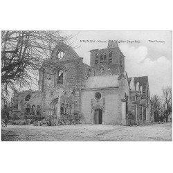 carte postale ancienne 51 FISMES. L'Eglise