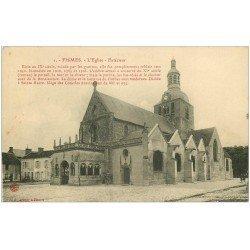 carte postale ancienne 51 FISMES. L'Eglise extérieur