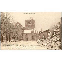 carte postale ancienne 51 FISMES. Place de l'Eglise