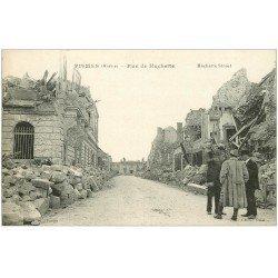 carte postale ancienne 51 FISMES. Rue de Huchette