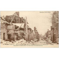 carte postale ancienne 51 FISMES. Rue de la Huchette 39