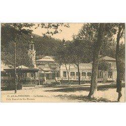 carte postale ancienne 09 AX-LES-THERMES. Le Casino