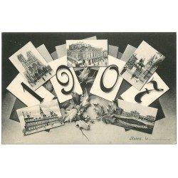 carte postale ancienne 51 REIMS. 1907