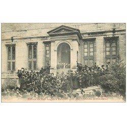 carte postale ancienne 51 REIMS. Allocution Monseigneur Luçon