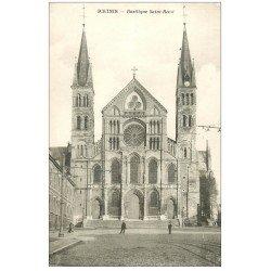 carte postale ancienne 51 REIMS. Basilique Saint-Remi