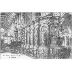 carte postale ancienne 51 REIMS. Basilique Saint-Remi le Tombeau