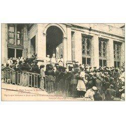 carte postale ancienne 51 REIMS. Bénédiction Monseigneur Luçon intronisation en 1906