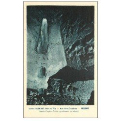 carte postale ancienne 51 REIMS. Champagne Caves Ruinart rue des Crayères. Claude