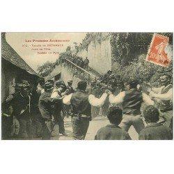 carte postale ancienne 09 BETHMALE Vallée. Danses du Pays Jour de Fêtes