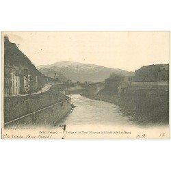 carte postale ancienne 09 FOIX. Ariège et Mont Fourcat 1903