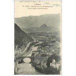 carte postale ancienne 09 FOIX. Ariège et Pic de Montgaillard 1918