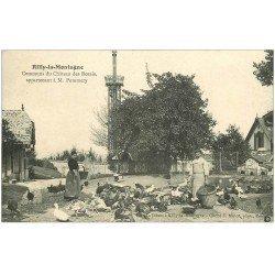 carte postale ancienne 51 RILLY-LA-MONTAGNE. La Ferme Communs Château des Rozais à Pommery 1905