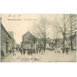 carte postale ancienne 51 RILLY-LA-MONTAGNE. Place Auguste Gallois 1905