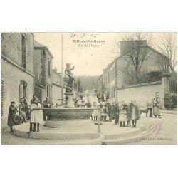 carte postale ancienne 51 RILLY-LA-MONTAGNE. Rue Chigny 1905 le Fontaine