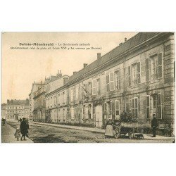 carte postale ancienne 51 SAINTE-MENEHOULD. Gendarmerie Nationale et Facteur