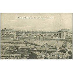 carte postale ancienne 51 SAINTE-MENEHOULD. Quartier de Cavalerie