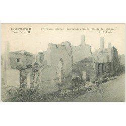 carte postale ancienne 51 SAINT-HILAIRE. Les Ruines