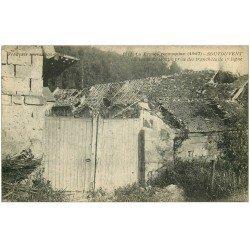 carte postale ancienne 51 SOUTOUVENT. La Porte du Moulion 1917