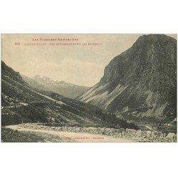 carte postale ancienne 09 L'HOSPITALET. Roc de Carouch et Pic des Espedrous
