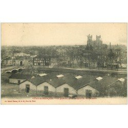 carte postale ancienne 51 VITRY-LE-FRANCOIS. Quartier de Cavalerie 1911