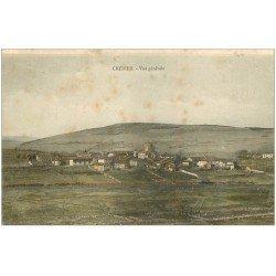 carte postale ancienne 42 CHERIER. Vue générale 1905