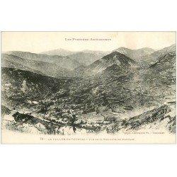 carte postale ancienne 09 LUZENAC. La Vallée