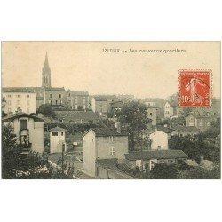 carte postale ancienne 42 IZIEUX. Les Nouveaux Quartiers