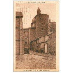 carte postale ancienne 42 MONTBRISSON. Tour des Adrets 1937
