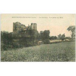 carte postale ancienne 42 MONTROND-LES-BAINS. Le Château
