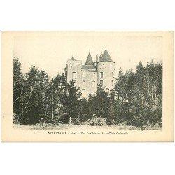 carte postale ancienne 42 NOIRETABLE. Château Croix-Guirande