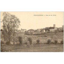 carte postale ancienne 42 PANISSIERES. Bas de la Ville 1930