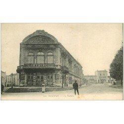 carte postale ancienne 42 ROANNE. Le Théâtre avec Carmen 1918
