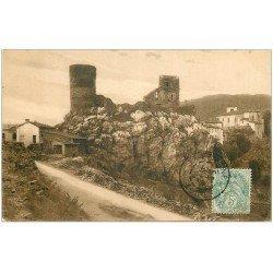 carte postale ancienne 42 SAINT-ETIENNE. Château de Rochetaillée 1906