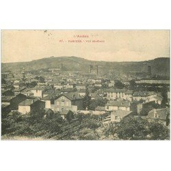 carte postale ancienne 09 PAMIERS. Vue générale 1921