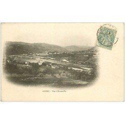 carte postale ancienne 43 AUREC. Vue ensemble 1905